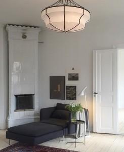 Next to the tiled stove interiorstories Source ebbasvea05