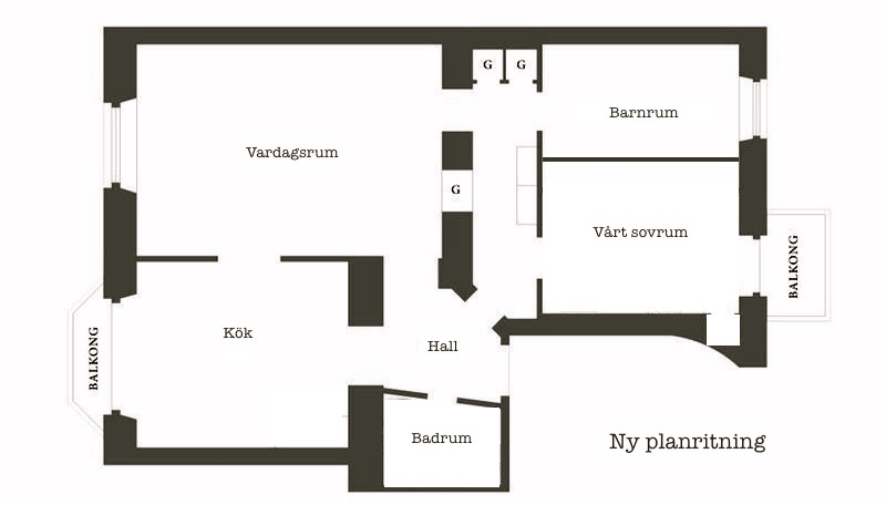 Ny planritning