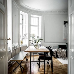 Round courners interiorstories Source residencemag photo and styling henriknero stylingbolaget