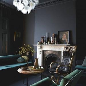 Dark Emerald furnitures interiorstories Source barnebys