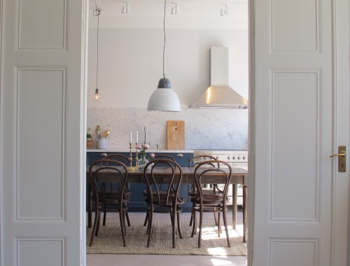 Blått kök1