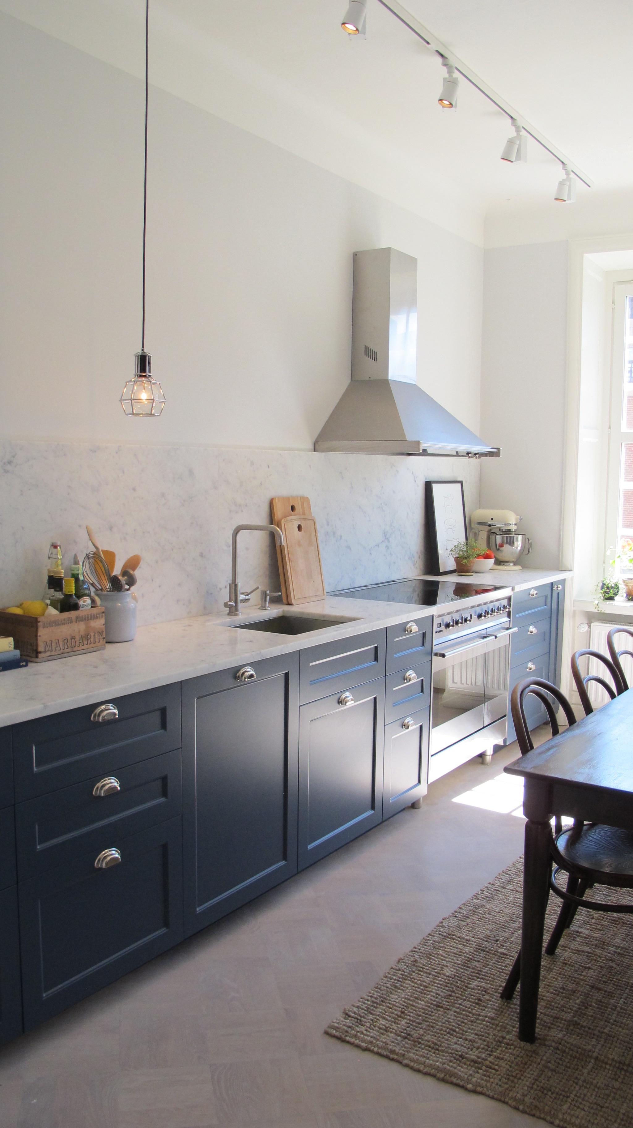 Kok Inredningsdetaljer : Morkblott kok o Interiorstories